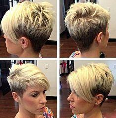 30  Super Short Hair Cuts for Women | http://www.short-hairstyles.co/30-super-short-hair-cuts-for-women.html