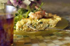 Shrimp and Spring Onion Quiche http://www.cookstr.com/recipes/shrimp ...
