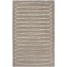 Solid Bold - Cylinder Warm Grey #colorfulRugs #coolRugs #ModRugs #BobbyBerk #greyrug