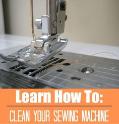 Sewing Techniques Couture Learn how to clean your sewing machine. The Sewing Loft - Tiny fibers and dust accumulate inside your machine. Learn how to keep everything running smooth and when to clean your sewing machine. Sewing Hacks, Sewing Tutorials, Sewing Crafts, Sewing Tips, Sewing Ideas, Sewing Basics, Diy Crafts, Dress Tutorials, Techniques Couture