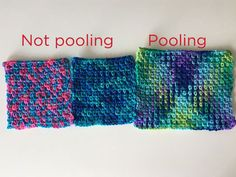Technique :: A Quick Guide to Color Pooling | Red Heart #crochet
