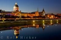 Canadian Tourist Attraction Bonsecours Market Montreal