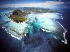 Descubre Tu Mundo : Destino: Isla Mauricio «la isla de la cascada bajo el mar» un paraíso por descubrir