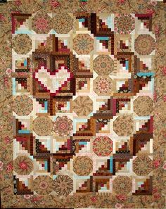 T-Gotta Have Heart by Linda Rotz Miller, Quilts & Quilt Tops, via Flickr - good lesson in color value!