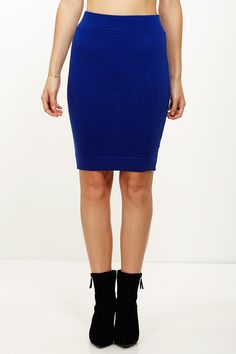 #Moonachie                #Skirt                    #Totally #Knee-t #Royal #Pencil #Skirt              Totally Knee-t Royal Pencil Skirt                                             http://www.seapai.com/product.aspx?PID=343695
