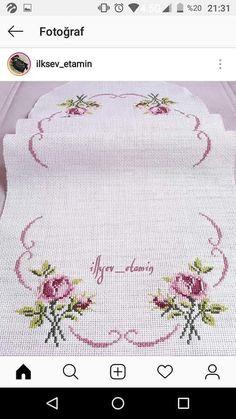Hand Embroidery Patterns, Cross Stitch Embroidery, Cross Stitch Patterns, Cross Stitch Christmas Ornaments, Cross Stitch Pillow, Tape Art, Bargello, Pattern Design, Diy And Crafts