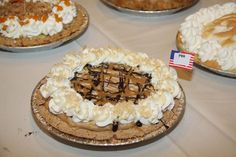 Peanut Butter And Cracker Pie.  (2013 APC Crisco National Pie Championships Professional Division  Best of Show and 1st Place Peanut Butter  Andrea Spring, Bradenton, FL)