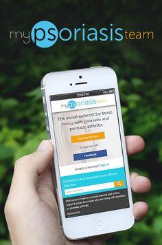 Download the MyPsoriasisTeam app for FREE here! #psoriasis #psoriaticarthritis