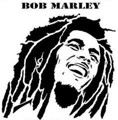 Bob Marley Ragae Rock & Roll Music Wall decal by SignJunkies Image Bob Marley, Bob Marley Art, Reggae Bob Marley, Art Rasta, Bob Marley Dibujo, Stencil Art, Stencils, Portraits Pop Art, Bob Marley Pictures