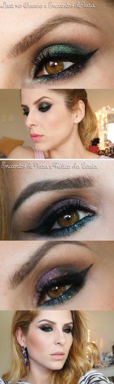 sombras em pó pausa para feminices http://www.cacau-makeup.blogspot.com.br/