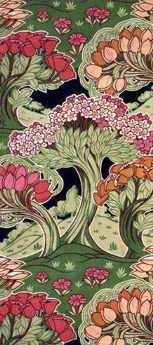 Christopher Dresser textile, British, ca. latter half 19th c.