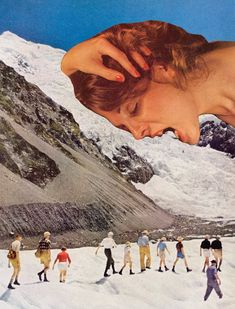 Collage Art by Mariano Peccinetti