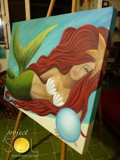www.project-sol.com Ariel Mermaid, Caribbean Art, Forest Fairy, Sea Shells, Mexican, Projects, Woodland Fairy, Log Projects, Blue Prints