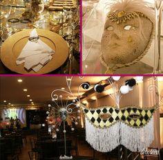 Festa Baile de máscaras - Debuteen - O Blog da Debutante