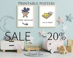 Printable wall art for kids. Use code: pinterest20 to get 20% sale on your order. Or click the photo and it will instantly redirect you to our website. Kids Bedroom Wallpaper, Do Your Best, Have Some Fun, Nursery Room, Printable Wall Art, Inspiring Quotes, Balcony, Bathroom Ideas, Art For Kids