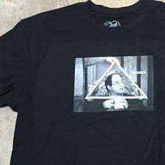 The latest from Theories just arrived, including the Trinity of Costanza tee in black! Check out more on www.surfzonepuertorico.com ! #theoriesofatlantis #georgecostanza