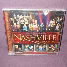 New Bill Gloria Gaither Nashville Homecoming CD 2009 With Friends Gospel…