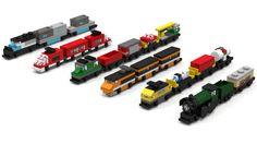 LEGO Classic Micro Trains
