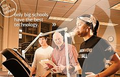 """You don""""t Believe only big schools have the best technology. http://anderson.edu/academics/kinesiology/"""