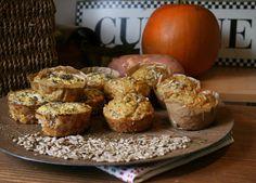 Edu's Pantry: Abóbora e Batata-Doce = 2 Muffins diferentes / Pumpkin and Sweet-potato = 2 different Muffins