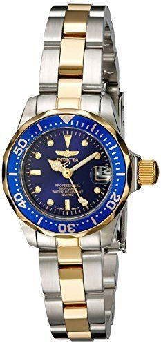 Invicta Women's 8942 Pro Diver GQ Two-Tone Stainless Steel Watch #Invicta