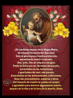 Siempre oportuna oración a san José.
