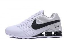 New Style Nike Shox Deliver White Silver Black Shox Nz Men s Athletic  Running Shoes 63511aeaf