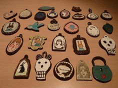 ceramic charms...love