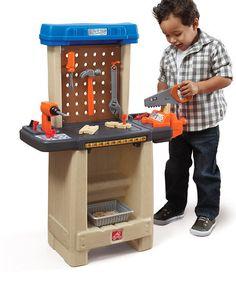 Another great find on #zulily! Handy Helpers Workbench & Tool Set #zulilyfinds