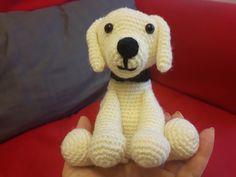 Instrucciones en http://www.thelabradorsite.com/crochet-labrador/