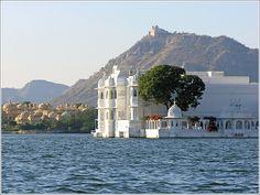 Jagniwas Palace in the Pichola Lake; Udaipur, India