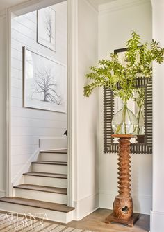 The 2019 Southeastern Designer Showhouse offered a harmonious blend of masculine and feminine aesthetics Windsor Windows, Erin Gates, Circa Lighting, Atlanta Homes, Weaving Art, Stairways, House Tours, Interior Design, Fashion Design