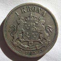 Zweden 1 krona 1875