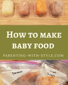 Making your own baby food When To Start Solids, Healthy Baby Food, All About Pregnancy, Make Your Own, Make It Yourself, Solids For Baby, Happy Mom, Baby Led Weaning, Easy Weeknight Meals