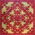 Indian Summer Quilt Pattern HQP-101 (advanced beginner)