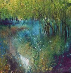 Bluebells Shine Like Stars In The Woods