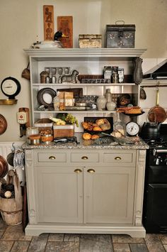 Autumn kitchen decor  Kom Achterom: interieur
