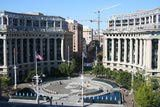 Aerial View of the Navy Memorial Plaza