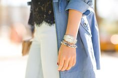 Blue Paradise :: Navy lace