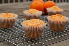 Cocina con Clau: Magdalenas de Naranja y Uvas Pasas con Crema de Queso