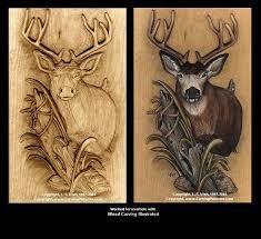 deer carving patterns - Google Search