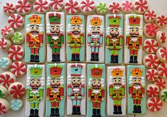 Wow! Lovely christmas decorated cookies.