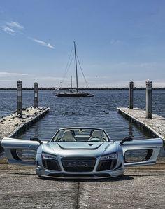 #Audi R8 E-Tron www.facebook.com/clubautozone
