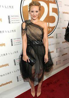 Hilary Duff! Gorgeous, as alwayss :)