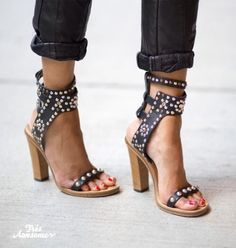 Heels with studs Pinterst: roos_anna