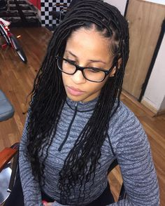 #goddesslocs Protective Hairstyles, Protective Styles, Braided Hairstyles, Twist Braids, Twists, Curly Hair Styles, Natural Hair Styles, Pretty Braids, Hair Fixing