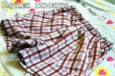 Sewing Pattern: Unisex Boxer Shorts