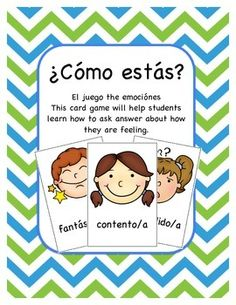 1000 ideas about verb estar with feelings and emotions for Go fish instructions