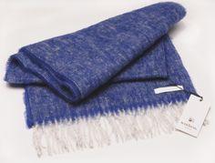 Mohair Scarf   //Tendress Cornflower Blue