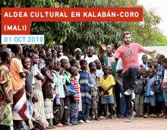 Trabajamos en Kalabán Coró (Malí), construyendo una escuela para niños y niñas de 12 a 16 años.